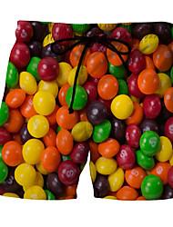 billige Badetøy til herrer-Herre Nederdeler Badebukser Frukt