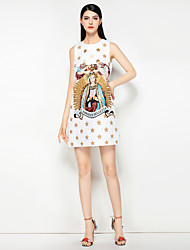 cheap -Mary Yan & Yu Women's Street chic A Line Dress - Floral Beaded
