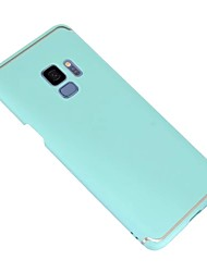 Недорогие -Кейс для Назначение SSamsung Galaxy S9 Ультратонкий / Матовое Кейс на заднюю панель Однотонный Твердый ПК для S9