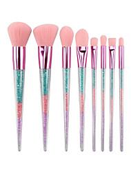 cheap -8pcs Makeup Brushes Professional Makeup Brush Set Nylon fiber Eco-friendly / Soft Plastic