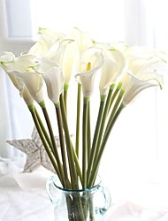 cheap -Artificial Flowers 1 Branch Party / Evening / Rustic Calla Lily / Eternal Flower Tabletop Flower