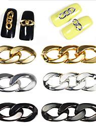 Недорогие -1 pcs металлический Украшения для ногтей Дизайн ногтей / Советы для ногтей