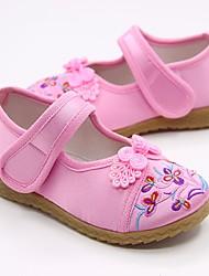 economico -Da ragazza Scarpe Seta Primavera Comoda / Scarpe da cerimonia per bambine Ballerine per Rosso / Verde / Rosa