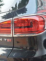 Недорогие -2pcs Автомобиль Автомобильные световые чехлы Деловые Тип пасты For задние фонари For Volkswagen Tiguan 2010 / 2011 / 2012