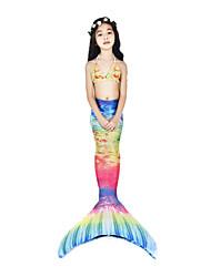 cheap -The Little Mermaid Swimwear / Bikini / Costume Women's Halloween / Carnival Festival / Holiday Halloween Costumes Ink Blue Vintage