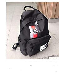 cheap -Women's Bags Oxford Cloth School Bag Zipper Black