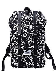 abordables -Unisexe Sacs Nylon / Similicuir sac à dos Billes / Motif / Impression Rouge / Vert Véronèse / Noir / blanc