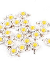 cheap -YouOKLight 50pcs High Performance LED Bulb Accessory LED Chip Pure Gold Wire LED Transparent 1 W