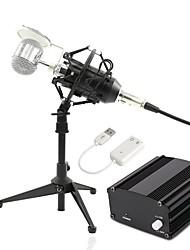Недорогие -BM8000 Кабель Микрофон Микрофон Конденсаторный микрофон Ручной микрофон Назначение Компьютерный микрофон