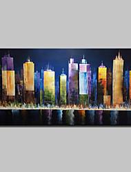 Недорогие -mintura® ручная роспись пейзажной масляной живописи на холсте современная картина на стенах для домашнего украшения, готовая повесить