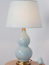 billiga -Modern Dekorativ Bordslampa Till Keramik Blå Gul