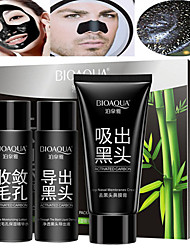 cheap -3 colors Cleansers / Mask / Facial Cleanser Wet Cleaning Kit / Liquid / Mask Deep-Level Cleaning / Pore-Minimizing / Blackhead Men / Women / Lady # Portable / High Quality Travel / Multi-function