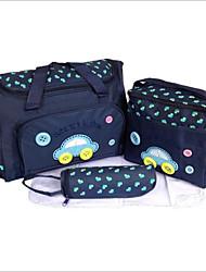 baratos -Mulheres Bolsas Náilon Conjuntos de saco 3 Pcs Purse Set Ziper para Praia / Ao ar livre Rosa / Azul Escuro / Azul Céu