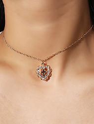 preiswerte -Anhängerketten - Kreuz, Liebe Einfach, Modisch Gold 35 cm Modische Halsketten Für Party / Abend, Geschenk, Alltag