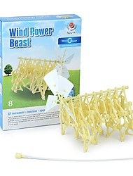 cheap -Building Toy Mini Beast 3D Cartoon Hand-made Wind Power Highschool All Boys' Girls' Toy Gift 1 pcs