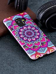 economico -Custodia Per Samsung Galaxy A8 2018 / A5 (2018) Fantasia / disegno Per retro Fiori Mandala Resistente PC per A5(2018) / A3 (2017) / A5