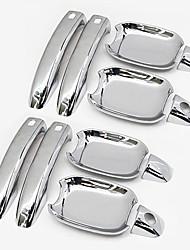 abordables -8pcs Voiture Bol de porte / Poignées de porte Business Type de pâte For Porte de voiture For Audi A3 2018 / 2017 / 2016