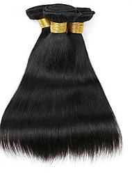 cheap -Indian Hair Straight Human Hair Weaves 50g x 3 Hot Sale / Extention Natural Color Hair Weaves / Human Hair Extensions All Christmas Gifts