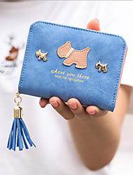 economico -Per donna Sacchetti PU Portafogli Nappa Fucsia / Azzurro cielo / Royal Blue