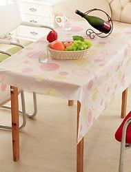 cheap -Contemporary PVC Square Placemat Table Linens Geometric Table Decorations