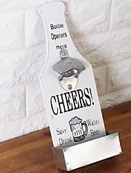 baratos -Abridor de Garrafa Aço Inoxidável, Vinho Acessórios Alta qualidade Criativo para Barware Fácil Uso 1pç