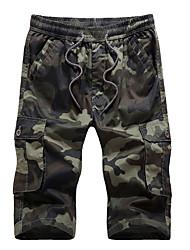 お買い得  -男性用 軍隊 ショーツ パンツ カモフラージュ
