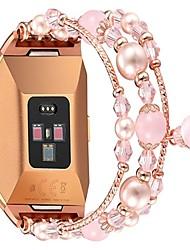 Недорогие -Ремешок для часов для Fitbit ionic Fitbit Дизайн украшения Металл Повязка на запястье