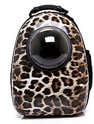 preiswerte -Hunde / Hasen / Katzen Transportbehälter &Rucksäcke Haustiere Träger Tragbar / Wasserdicht / Mini Solide / Leopard / Britisch Rot /