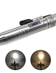preiswerte -HKV LED Taschenlampen LED 400-500lm 2 Beleuchtungsmodus Tragbar / Professionell Camping / Wandern / Erkundungen / Für den täglichen