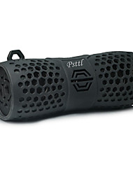 baratos -Psttl-213 Alto-falante Bluetooth Impermeável Bluetooth 4.2 AUX 3.5mm Altofalante para Ambientes Exteriores Preto