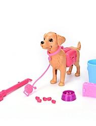 Недорогие -Товары для игр в профессии Собаки / Животный принт Взаимодействие родителей и детей Пластиковый корпус Детские Подарок 13 pcs