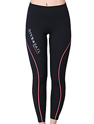 cheap -Dive&Sail Women's Wetsuit Pants 1.5mm Bottoms Thermal / Warm, Quick Dry, Ultraviolet Resistant Swimming / Diving / Surfing Solid Colored / Breathable / Breathable