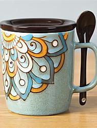 billige -drinkware Porcelæn Krus Varmeisolerede 1pcs