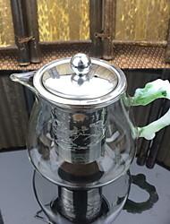 olcso -1db üveg Tea szűrő Hőálló ,  11*9cm
