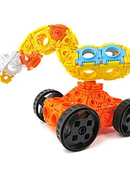 cheap -Building Blocks 102pcs Excavating Machinery Creative / Parent-Child Interaction Excavator Gift