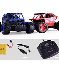 abordables -Voitures RC  1 canal 2.4G Buggy (Hors des routes) / Automatique / Monster Truck Bigfoot 1:16 Moteur Sans Balais 10 km/h KM / H