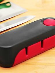 baratos -Utensílios de cozinha Metal Gadget de Cozinha Criativa Afiador de Facas 1pç