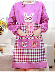 cheap -Kitchen Cleaning Supplies Polyester / Linen Blend Apron Universal / Anti-Dust 1pc
