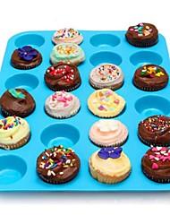 Недорогие -1шт Силикон Творчество Своими руками Печенье Cupcake Шоколад Формы для пирожных Десертные инструменты Инструменты для выпечки