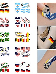 Недорогие -Наклейки и ленты / Стикер татуировки руки / рука / запястье Временные татуировки 1 pcs Олимпийская серия Искусство тела