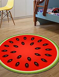 economico -Creativo Casual Tappeti antiscivolo Poliestere, Qualità superiore Rotondi Pop art Tappeto