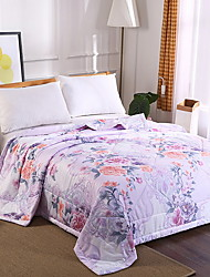 cheap -Comfortable - 1pc Quilt Summer Polyester Floral