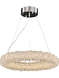 cheap -QIHengZhaoMing Circular Chandelier Ambient Light - Crystal, 110-120V / 220-240V, Warm White, LED Light Source Included / 15-20㎡