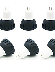 cheap -ZDM® 6pcs 4W 1 LEDs LED Spotlight Warm White Cold White Natural White 85-265V Cabinet Commercial Home / Office