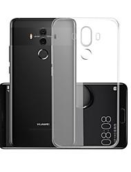 abordables -Coque Pour Huawei Mate 10 pro Transparente Coque Couleur Pleine Flexible TPU pour Mate 10 pro