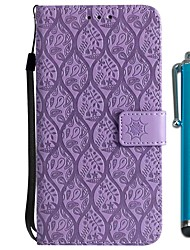 cheap -Case For Huawei P20 / P20 lite Wallet / Card Holder / with Stand Full Body Cases Flower Hard PU Leather for Huawei P20 / Huawei P20 Pro /