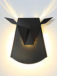 Недорогие -CONTRACTED LED Матовая / Для детской LED / Модерн Настенные светильники Гостиная / Спальня / Кабинет / Офис Металл настенный светильник