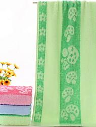 preiswerte -Frischer Stil Badehandtuch Handtuch, Jacquard Mehrfarbig Gehobene Qualität Polyester / Baumwolle gewebtes Jacquard 1pcs
