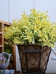 baratos -Flores artificiais 1 Ramo Retro Plantas Flor de Mesa