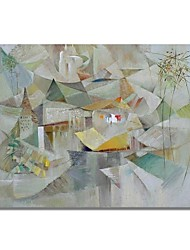 cheap -STYLEDECOR Modern Hand Painted Abstract on Canvas Oil Painting for Wall Art